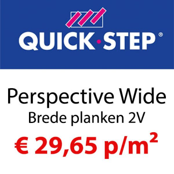 Quick-Step Perspective Wide 2V