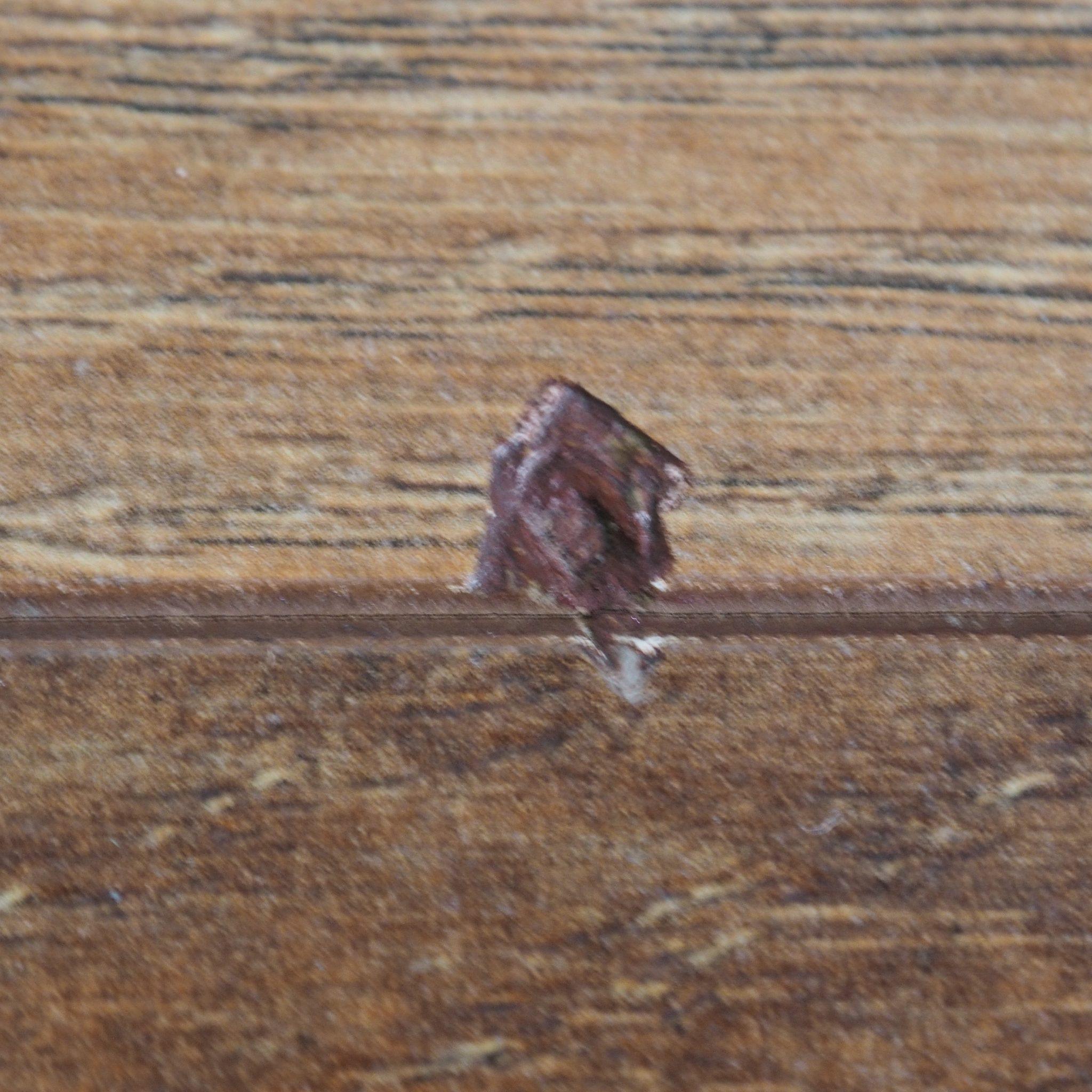 schade aan laminaat repareren